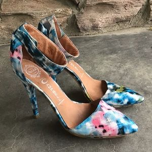 Jeffrey Campbell Solitaire Watercolor Heels